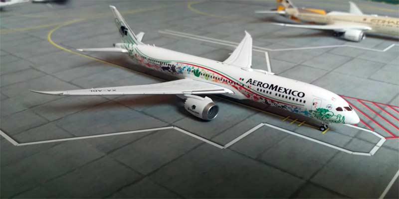 Aeroméxico Quetzalcoatl B787