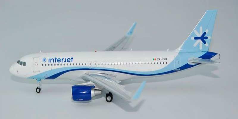 Interjet A320-200 Sharklets